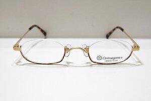 Onimegane(オニメガネ)OG-7222 col.DAメガネフレーム新品めがね眼鏡サングラスアンダーリム逆ナイロールべっ甲柄鯖江ブランドおしゃれ