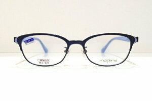 napina NA-3203 col.DBLメガネフレーム新品めがね 眼鏡 サングラスレディース大人の可愛いおしゃれ日本製鯖江