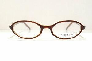 Zip+homme(ジップオム)Z-0138 03メガネフレーム新品ヴィンテージめがね 鯖江眼鏡 サングラスオクタゴン可愛い