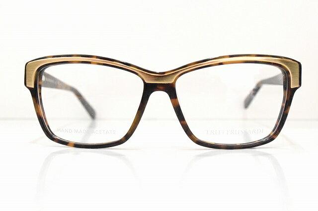 TRUSSARDI (トラサルディ)TR12500 HVメガネフレーム新品めがね 眼鏡 サングラスメンズレディースブランド芸能人