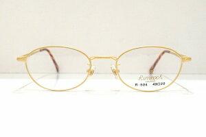 Rimrock(リムロック)R-504 GMメガネフレーム新品めがね鯖江眼鏡サングラス彫金ヴィンテージクラシック艶消し