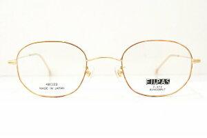 「FUxPAS(フーパス)F-072 col.6ボストン型メガネフレーム新品めがね眼鏡サングラスクラシック耳かきブランド鯖江