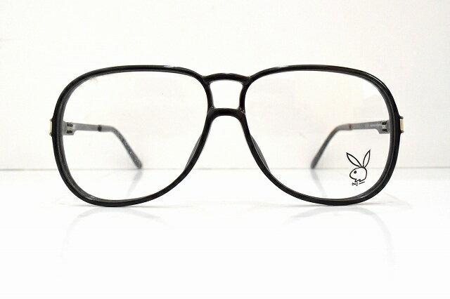 PLAYBOY(プレイボーイ)4661A 90ヴィンテージメガネフレーム新品めがね眼鏡サングラスティアドロップスキニー