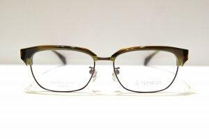 坂田銀次郎 SG-208 col.BRブロー型メガネフレーム新品めがね鯖江眼鏡サングラスクラシック日本製職人手作りブランド