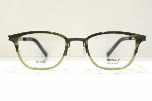 mena-J(メナジェイ)MJ-5006 col.2メガネフレーム新品クラシックビジネススーツめがね眼鏡サングラス鯖江ブランド