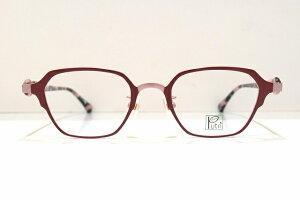 Putri(プトゥリ)EP-857 col.2メガネフレーム新品めがね眼鏡サングラス鯖江ブランドかわいいおしゃれチタンボストン型