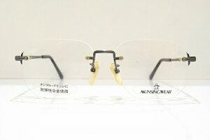 MUNSINGWEAR(マンシングウエアー)MS-5005ヴィンテージメガネフレーム新品めがね眼鏡サングラスふちなしメンズ紳士用