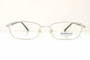 Gran & croir GC-009ヴィンテージメガネフレーム新品めがね眼鏡サングラスチタン蛇腹テンプル鯖江ブランド紳士男性用