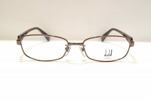 ALFRED DUNHILL(ダンヒル)526 col.BZヴィンテージメガネフレーム新品めがね眼鏡サングラスメンズ紳士男性用ビジネススーツ