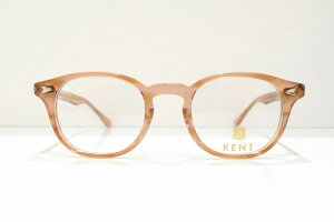 KENT(ケント)KT-1053 col.LBRSSメガネフレーム新品めがね眼鏡サングラスクラシックボストン型鯖江日本製メンズレディース