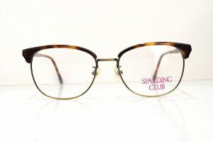 SPALDING CLUB(スポルディング)CL-1036 col.BRDヴィンテージメガネフレーム新品めがね眼鏡サングラスブロー鯖江ブランド