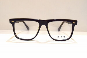 DIXIE 754 col.クロヴィンテージセルロイドメガネフレーム新品めがね眼鏡サングラス黒ぶち鯖江メンズレディース