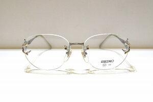 SEIKO(セイコー)TOWNEE TW-1391 RGヴィンテージメガネフレーム新品めがね眼鏡サングラスふちなしカメオレディース婦人女性用