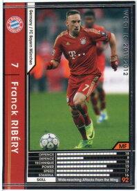 WCCF11-12 フランク・リベリー 121/384 FCバイエルン・ミュンヘン 黒カード 【中古】シングルカード