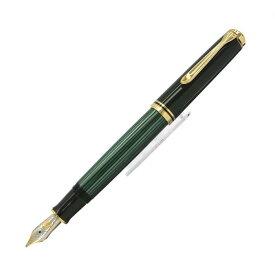【送料無料】 Pelikan ペリカン 万年筆 スーベレーン M800 緑縞 【正規品】【smtb-f】