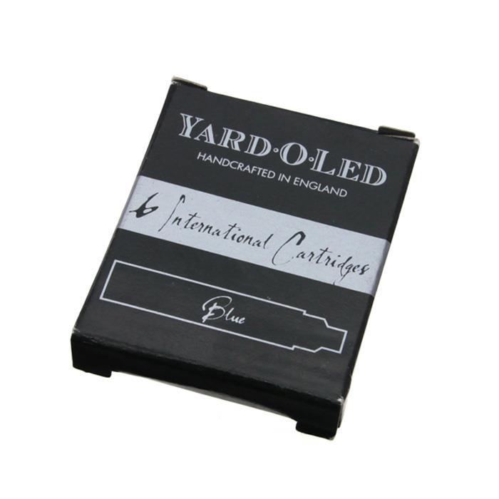 【ポイント5倍】【万年筆 インク】 YARD・O・LED ヤード・オ・レッド カートリッジインク ブルー (6本入り) 【正規品】