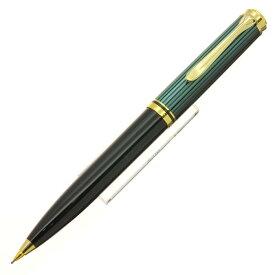 【送料無料】 Pelikan ペリカン メカニカルペンシル スーベレーン D600 0.7mm 緑縞 【正規品】【smtb-f】