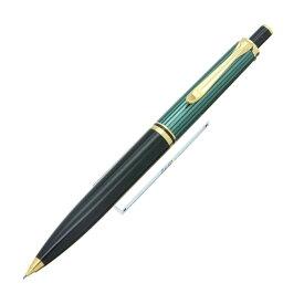 【送料無料】 Pelikan ペリカン メカニカルペンシル スーベレーン D400 0.7mm 緑縞 【正規品】【smtb-f】