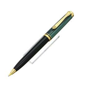 【送料無料】 Pelikan ペリカン メカニカルペンシル スーベレーン D300 0.7mm 緑縞 【正規品】【smtb-f】