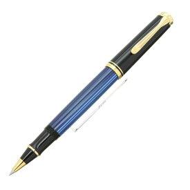 【送料無料】 Pelikan ペリカン ローラーボール スーベレーン R400 ブルー縞 【正規品】【smtb-f】