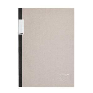 kleid クレイド 中村印刷所×kleid フラットノート グレー A5 2mm方眼 8404(ホワイト) 【正規品】