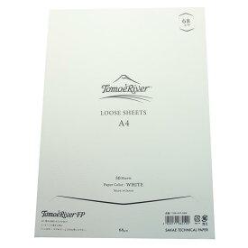 《新品》 SAKAE サカエテクニカルペーパー ルーズシート トモエリバーFP A4 68g/m2 ホワイト 【ラッピング無料】【正規品】