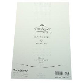 《新品》 SAKAE サカエテクニカルペーパー ルーズシート トモエリバーFP A4 5mmドットグリット ホワイト 【ラッピング無料】【正規品】