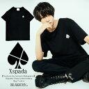 8月下旬頃入荷の予約販売【中山咲月プロデュース】Xspada 胸刺繍 ビッグ Tシャツ エクスパーダ 原宿 韓国 メンズ レデ…