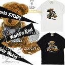 ワールド ドロップショルダービッグ Tシャツ デザイン プリント ストリート