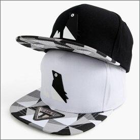 帽子 スナップバック キャップ ホワイト ユニーク 可愛い デイリーアイテム ストリートファッション ヒップホップ 男女兼用 デザイン カジュアル 基本アイテムcap k-pop HipHop◎ (N) 1599-ET ペーパーペンギンスナップバックキャップ △