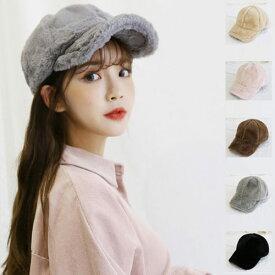 ミンクファー ボールキャップ スタイル デイリーアイテム スタイリッシュ シンプル デザイン◎(Y)2118-MHミンクファーボールキャップ毛の帽子