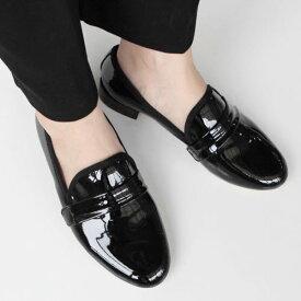 ローファー エナメル レディース パンプス 大人 学生 デザイン シューズ 靴 おしゃれ スーツシューズ シンプル 高級感 素敵 かわいい◎012.ジャクソンシューズ[2COLOR]