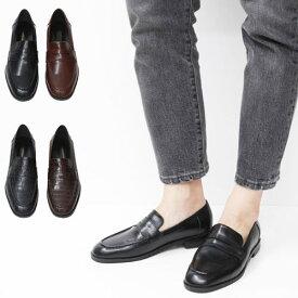 ローファー デザイン シューズ 靴 おしゃれ スーツシューズ シンプル 高級感 素敵 かわいい◎502.クラシックペニーローファー[4COLOR]