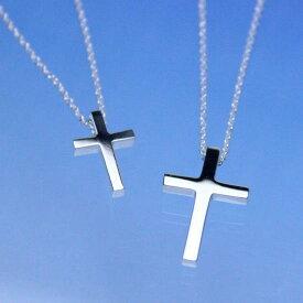 シルバー925 十字架 ペンダント クロス アラベスク ペアネックレス