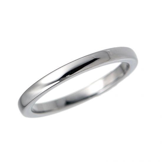 タングステン 甲丸リング2mm【NonPVD】3〜21号    文字入れ刻印可能♪/ペアリング/結婚指輪/マリッジリング