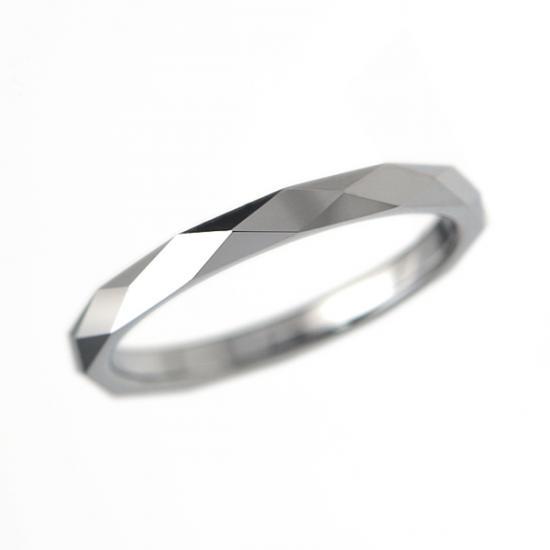 タングステン 甲丸カットリング2mm【NonPVD】3〜21号    文字入れ刻印可能♪/ペアリング/結婚指輪/マリッジリング