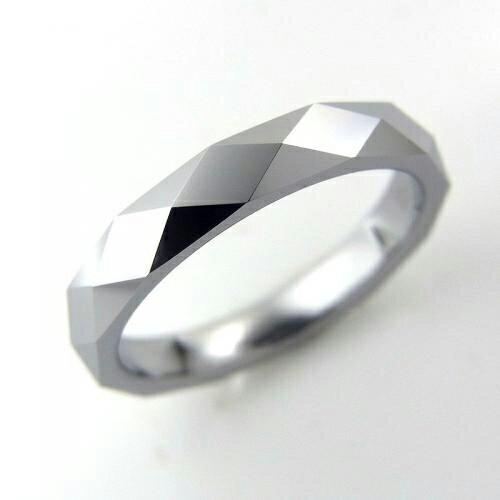 タングステン カットリング3mm【NonPVD】7〜21号    文字入れ刻印可能♪/ペアリング/結婚指輪/マリッジリング