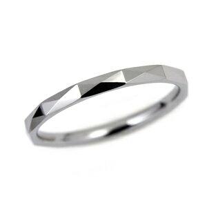 タングステン カットデザインリング2mm幅【NonPVD】7〜21号    文字入れ刻印可能♪/ペアリング/結婚指輪/マリッジリング