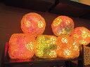 【アジアン雑貨】ラタンボックス【球形/黒】 アジアン雑貨 癒し イルミネーション 間接照明 籐 ランプ フロアライト スタンドライト イ…