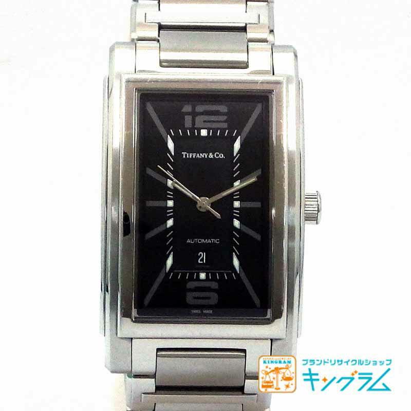 ティファニー Tiffany & Co グランド Z0031.68.10A10A00A アウトレット 自動巻き メンズ 腕時計 ec【中古】