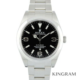 ロレックス ROLEX エクスプローラー1 214270 2013年 ランダム番 外装仕上げ済 機械点検済 自動巻 メンズ 腕時計 rna【中古】