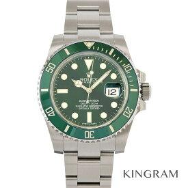 ロレックス ROLEX サブマリーナ デイト 116610LV グリーンサブ 自動巻 ランダム メンズ 腕時計 fto【中古】
