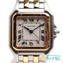 カルティエ CARTIER パンテール MM 2ロウ クオーツ ボーイズ 腕時計 ゴールド×シルバー ta 【中古】