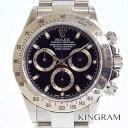 ロレックス ROLEX 116520 デイトナ 黒文字盤 K番 クロノグラフ メンズ腕時計 my 【中古】