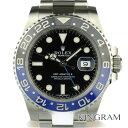 ロレックス ROLEX GMTマスター2青×黒 Ref.116710BLNR ランダム 自動巻 メンズ 腕時計 tynm 【中古】
