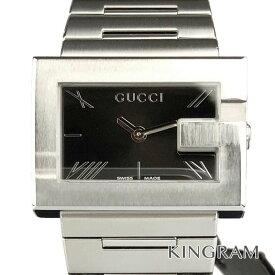 e7ef3e2e0224 グッチ GUCCI 100L Gレクタングル Ref.YA100505 アウトレット クォーツ レディース 腕時計 ec 【中古】