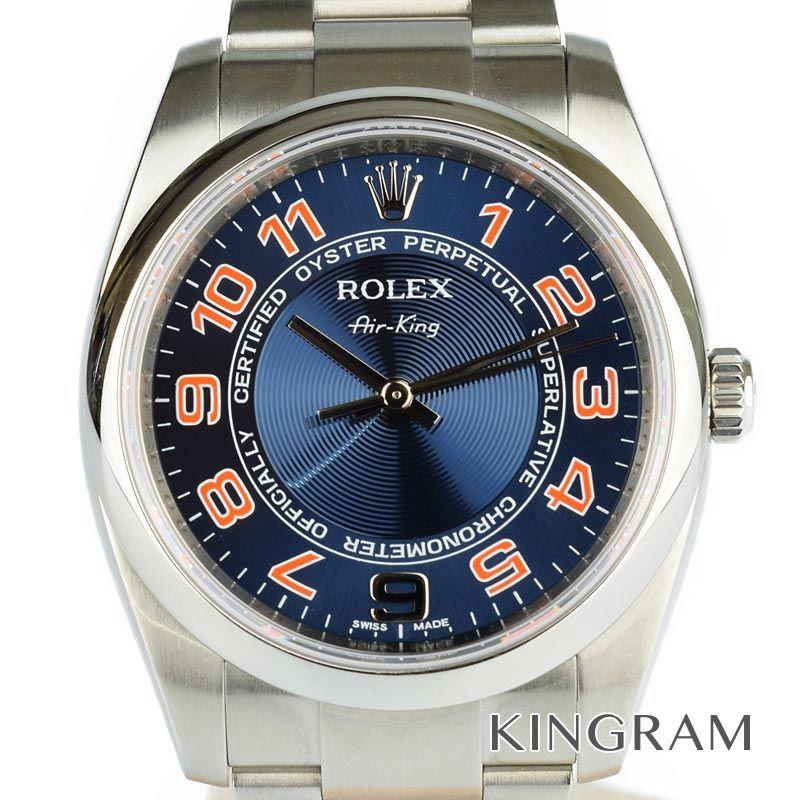 ロレックス ROLEX エアキング Ref.114200 自動巻 メンズ 腕時計 rna 【中古】
