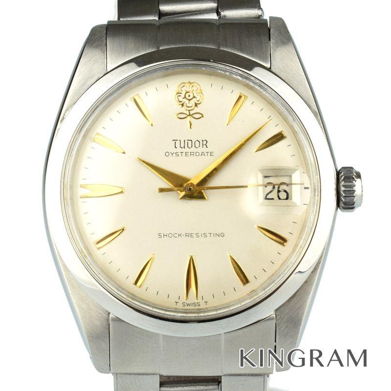 チュードル TUDOR Ref.7962 Big Rose デカバラ アンティーク 手巻 メンズ 腕時計 rib 【中古】