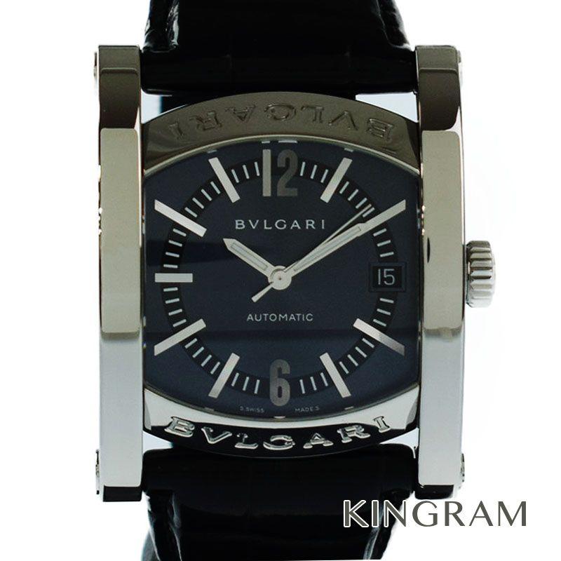 ブルガリ BVLGARI アショーマ Ref.AA44S OH済 自動巻 メンズ 腕時計 my 【中古】