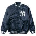 送料無料 ニューエラ NEW ERA バーシティージャケット MLB ニューヨーク・ヤンキース チャンプス メンズ サテンジャケット 11474017 ネ…